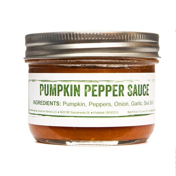 Pumpkin Pepper jar